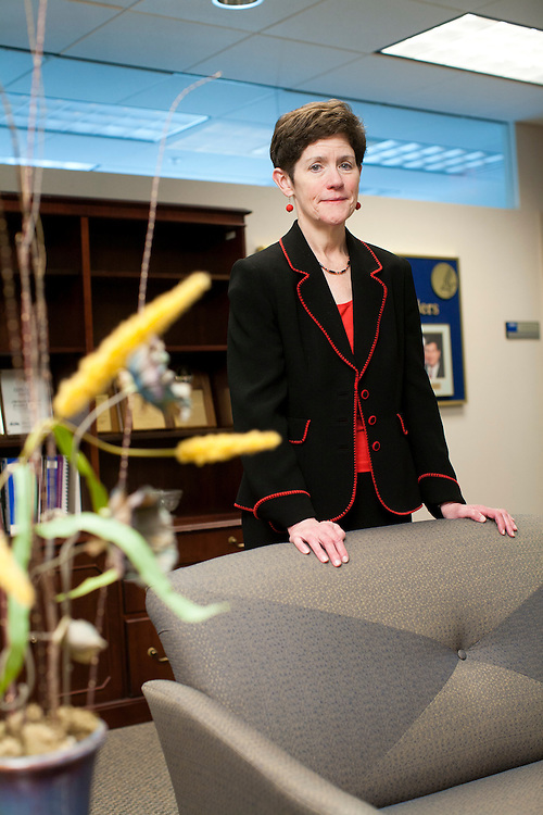 Dr. Carolyn Clancy, director of the Agency for Healthcare Quality and Research, poses for a potrait at her agency's offices on Wednesday, May 25, 2011 in Rockville, MD.
