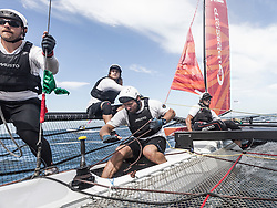 3rd March 2016. Fremantle, WA. World Match Racing Tour.