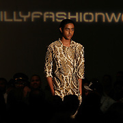 Fashion Designer RASHARD GENTLE of New York City presents his fall & winter 2013 Dramatik Fanatic collection at Philadelphia Fashion Week Saturday, September. 21, 2013 at The Crane Arts Building in Philadelphia Pennsylvania.