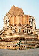 """Ancient city """"pillar"""" at Wat Chedi Luang"""