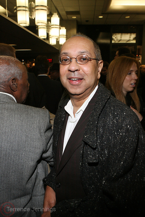 """George C. Wolfe at the ' Cadillac Records' premiere at held at AMC Broadway 19th Street on Decemeber 1, 2008 in NYC..In this tale of sex,, violence, race, and rock and roll in the 1950's Chicago, 'Cadillac Records"""" follows the exciting but turbulent lives of some America's musical legends including Muddy Waters, Leonard Chess, Little Walter, Howlin' Wolf, Chuck Berry and Etta James."""
