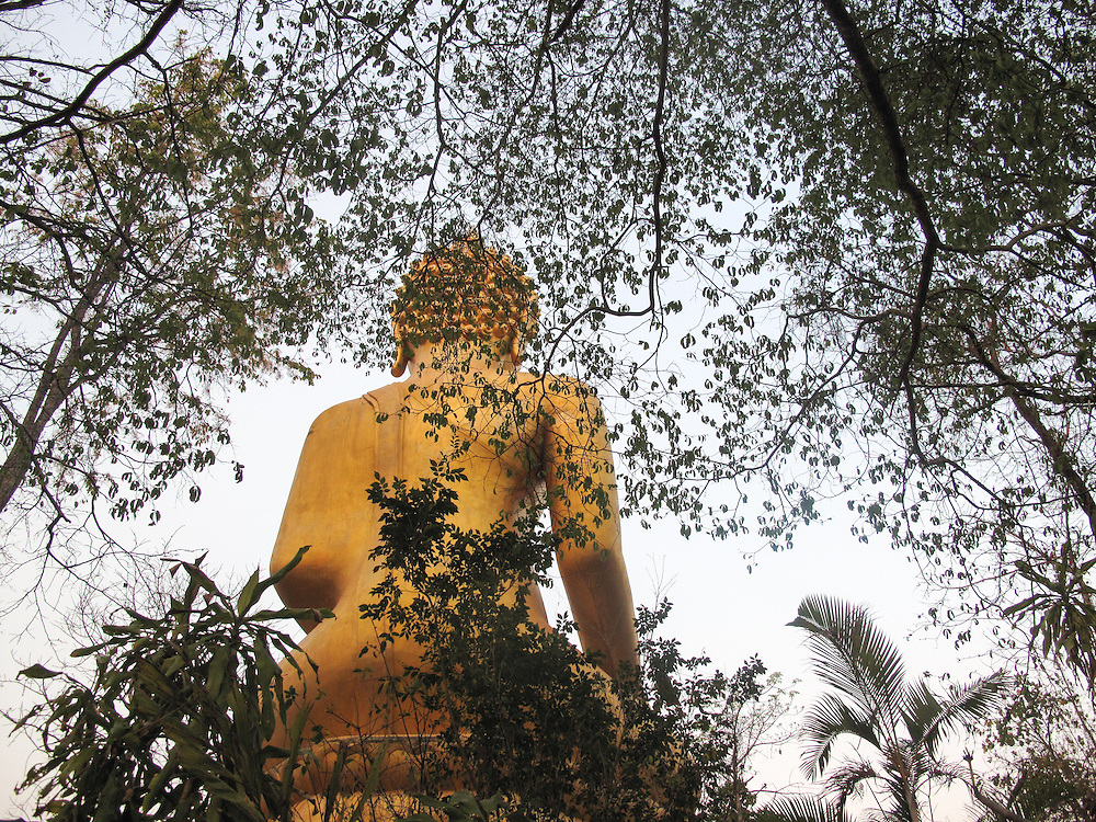 Buddha, Thailand by Noon.<br /> <br /> Noon's village is Christian. She was a teacher in Thonnam School. She would like to teach again She speaks three languages. Her English is good. Her favourite color ir orange.<br /> <br /> Programme : Women at risk of trafficking in Thailand