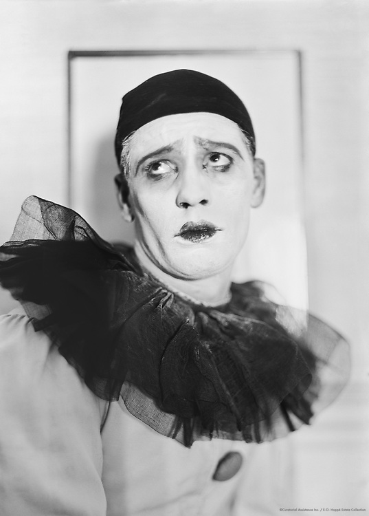 Adolph Bolm as Pierrot in 'Le Carnaval', London, England, 1911