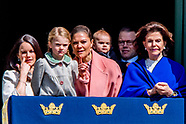 The King's birthday  The King, The Queen, The Crown Princess, Prince Daniel, Prince Carl Philip, Pri