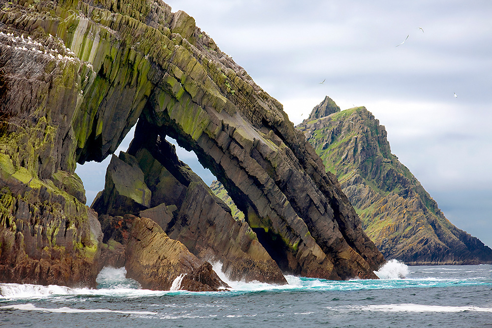 &quot;Skellig Portal&quot;<br /> <br /> Little Skellig and Skellig Michael, Star Wars Movie Location, County Kerry, Ireland ****** <br /> <br /> Visit &amp; browse through my Photography &amp; Art Gallery, located on the Wild Atlantic Way &amp; Skellig Ring between Waterville and Ballinskelligs (Skellig Coast R567), only 3 minutes from the main Ring of Kerry road.<br /> https://goo.gl/maps/syg6bd3KQtw<br /> <br /> ******<br /> <br /> Contact: 085 7803273 from an Irish mobile phone or +353 85 7803273 from an international mobile phone