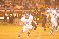 Water Valley's E.J. Bounds (5) vs. Charleston in Charleston, Miss. on Friday, September 14, 2012. Charleston won.