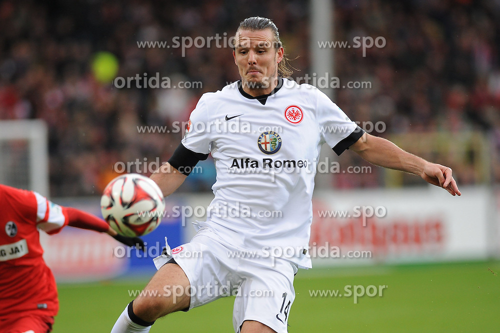 31.01.2015, Schwarzwald Stadion, Freiburg, GER, 1. FBL, SC Freiburg vs Eintracht Frankfurt, 18. Runde, im Bild Alexander Meier (Eintracht Frankfurt) // during the German Bundesliga 18th round match between SC Freiburg and Eintracht Frankfurt at the Schwarzwald Stadion in Freiburg, Germany on 2015/01/31. EXPA Pictures &copy; 2015, PhotoCredit: EXPA/ Eibner-Pressefoto/ Laegler<br /> <br /> *****ATTENTION - OUT of GER*****