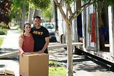 Soldier and Wife on Moving Day