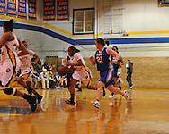Oxford High vs. Saltillo in MHSAA playoff basketball action in Oxford, Miss. on Tuesday, February 7, 2012. Oxford won.