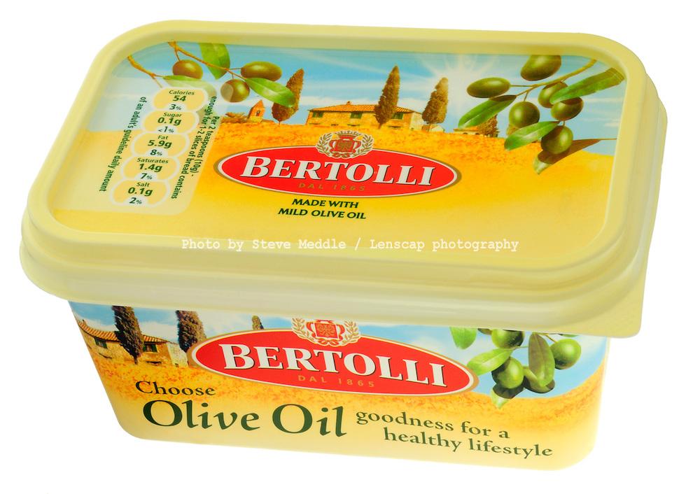 Tub of Bertolli Butter - Oct 2009