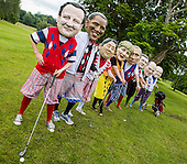 G8 leaders at Enniskillen golf club.
