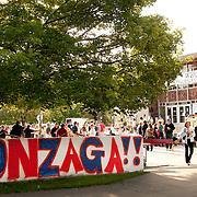 """The Wall"" at Gonzaga Orientation."