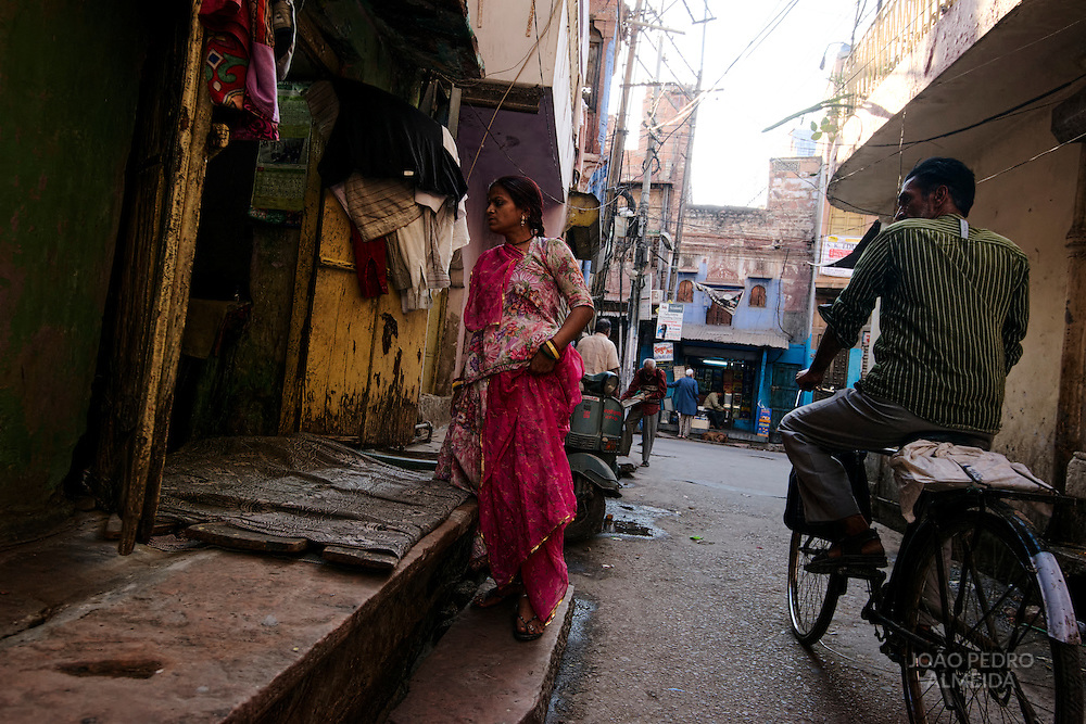 Activity in the streets of Jodhpur
