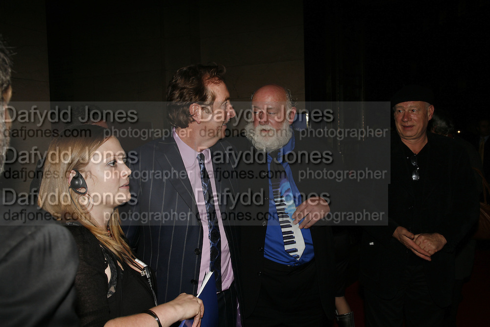 ERIC IDLE AND JOHN DU PRES, Opening of Spamalot at the Night Palace Theatre and afterwards at Freemasons Hall Gt. Queen St.  London. 17 October 2006. -DO NOT ARCHIVE-© Copyright Photograph by Dafydd Jones 66 Stockwell Park Rd. London SW9 0DA Tel 020 7733 0108 www.dafjones.com