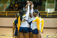 2015 A&T Volleyball Spring Match vs Elon University