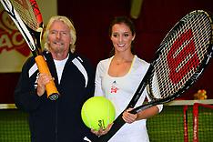 FEB 26 2013 Laura Robson is face of Virgin Active's Junior Tennis Academy