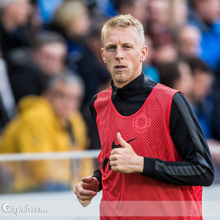 BRUGGE - Club Brugge - Zulte Waregem , Voetbal , Seizoen 2016/2017 , Jupiler Pro League Belgie Play-off 1 , Jan Breydel Stadion , 01-05-2017 , Club Brugge speler Lex Immers