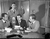 1956 - Radio Review special for Radio Eireann Junior Sorts Magazine show