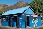 Mauritius. The Chummun corner store in Port Louis.