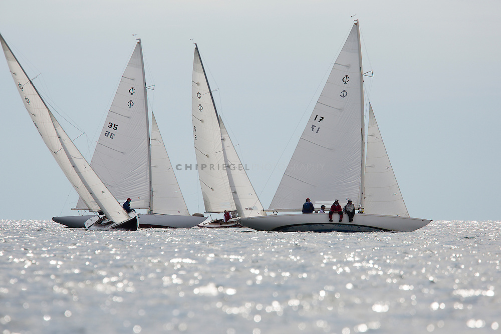 2013 International One Design Worlds in eastern Long Island sound hosted by the Fishers Island Yacht Club. The IOD class was started in Long Island Sound in 1936 by Cornelius Shields Sr.