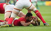 20151017 South Africa vs Wales, Twickenham. UK