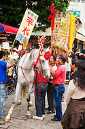 I'm not really sure what the horse was doing there, but you don't often see horses in Taiwan, so that's cool.