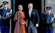 Koning Willem-Alexander en Koningin Maxima houden woensdag 13  januari 2016 de traditionele Nieuwjaa
