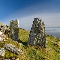 Standing Stones Ballinskelligs Ring of Kerry Ireland / bs043