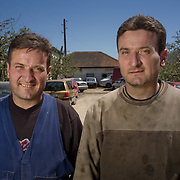 Alexander and Risto (40) , Car Mechanics, Resen, FYR Macedonia