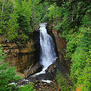 &quot;Miners Falls&quot; 2<br /> <br /> Scenic Miners Falls in Pictured Rocks National Lakeshore near Munising Michigan!!<br /> <br /> Waterfalls by Rachel Cohen