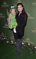 Imogen Thomas and Ariana attend Tinkerbell and the Legend of the Neverbeast Gala Screening at Vue West End, Leicester Square  London on Sunday 7th December 2014