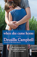 """When She Came Home"" by Drusilla Campbell, book cover"