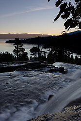 """Emerald Bay Sunrise 5"" - This sunrise was photographed from Eagle Falls above Emerald Bay, Lake Tahoe."