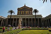 St. Paul Outside the Walls Basilica, Rome. (Sam Lucero photo)
