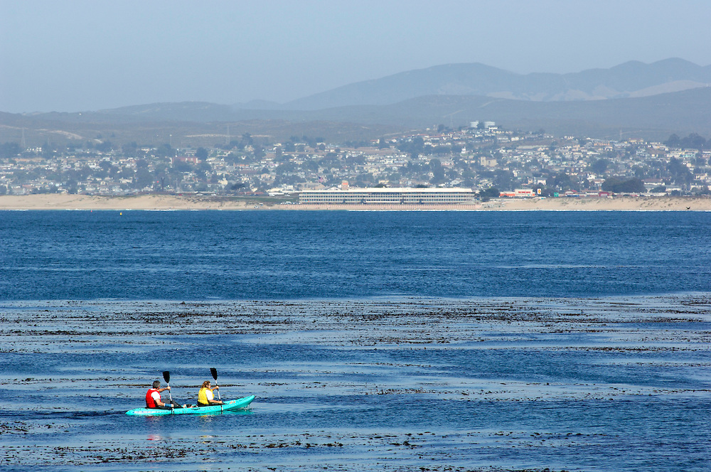 Kayaking in Monterey Bay, Monterey, California, United States of America