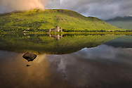 Europe, United Kingdom, UK, Scotland, Argyll, Loch Awe, Kilchurn Castle