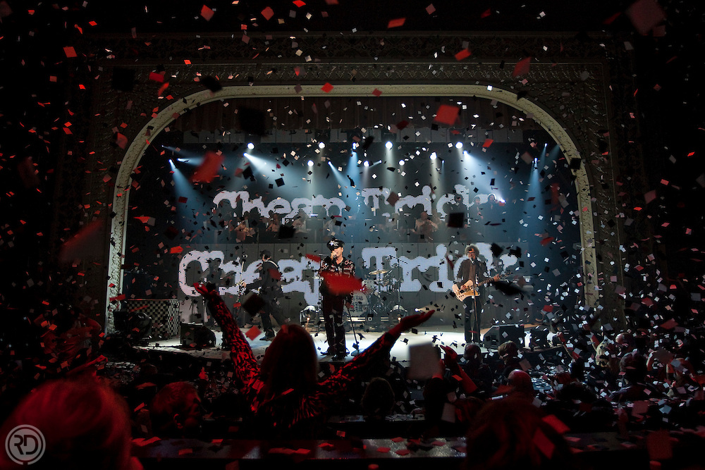 Cheap Trick.Potawatomi Casino.Northern Lights Theater.Milwaukee, WI.February 25, 2011..Photograph © Ross Dettman
