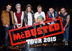 NOV 04 2014 McBusted announce tour, Hippodrome Casino, London,