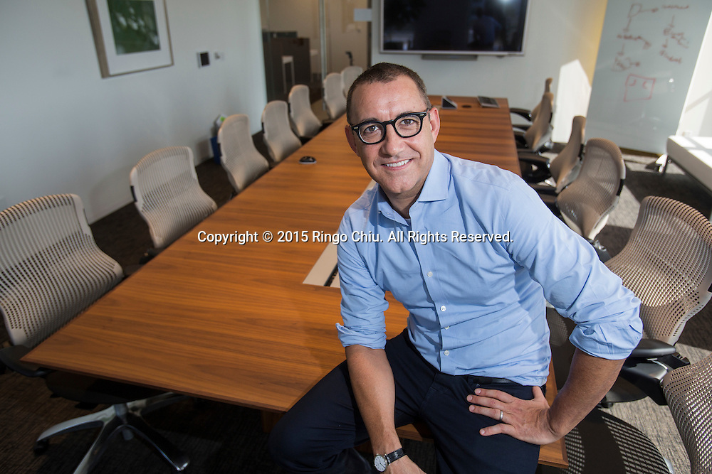 Joe Duran, the founder and chief executive of United Capital in Newport Beach.<br />  (Photo by Ringo Chiu/PHOTOFORMULA.com)