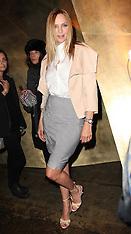FEB 11 2013 Uma Thurman at Donna Karen  at New York Fashion Week A/W 13