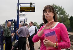 JUL 23 2014 Transport Minister at Bedwyn station