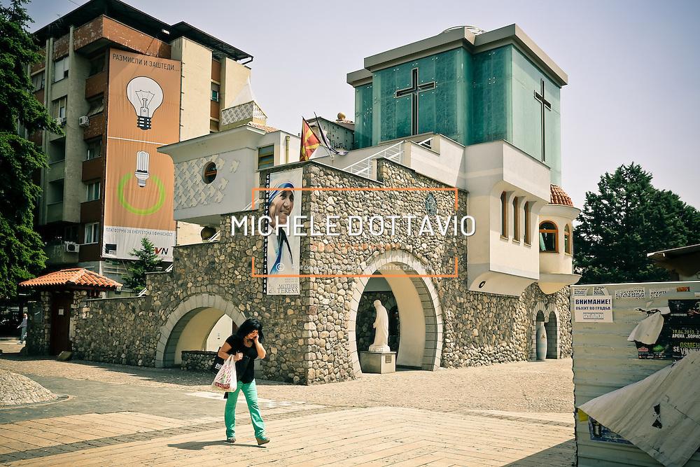 Skopje ha dati i natali c'&egrave; Madre Teresa. L'architetto Bozinovski le ha dedicato una casa museo.<br /> Skopje is the capital and largest city of the Republic of Macedonia