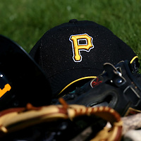 BRADENTON, FL -- January 13, 2010 -- Pittsburg Pirates hats lay in a pile during workouts at the Pirate City Spring Training Headquarters in Bradenton, Fla., on Wednesday, January 13, 2010.  (Chip Litherland for the Chip Litherland for the Pittsburgh Tribune-Review)