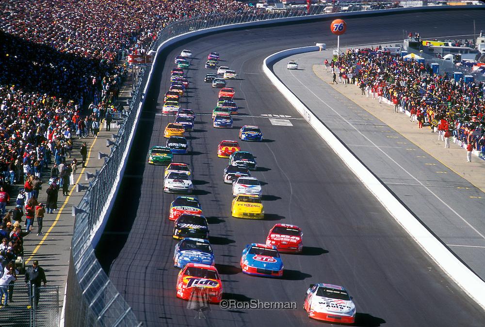 Atlanta Motor Speedway 85y2818 Ron Sherman