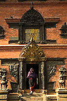 Nava Durga Tantric Temple - The three storied shrine houses Nava Durga, a combination of the city's nine protective mother goddesses. Nava Durga is noted for its elaborately carved windows and doorways. It is a popular place for puja - religious rituals performed by Hindus as an offering to various deities done on a variety of occasions.