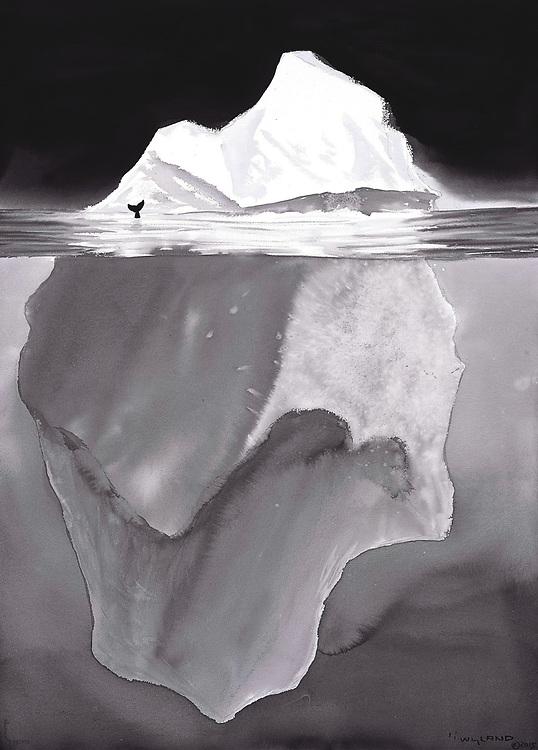 Giclee print of original acrylic on canvas