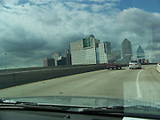 Downtown Dallas from the Freeway
