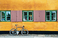 It was love at first sight when I saw this bicycle leaning against the bright yellow row house in Nyboder. Originally built as a naval barracks, these long rows of golden houses still house navy, army and air force personnel, but are also open to civilian renters. The colour has become so iconic; it's referred to, by Danes, as 'Nyboder Yellow.'