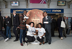 Penny for London Liv St Station sss 30.9.2015