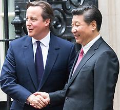 2015-10-21 Chinese President Xi Jinpeng Visits 10 Downing Street